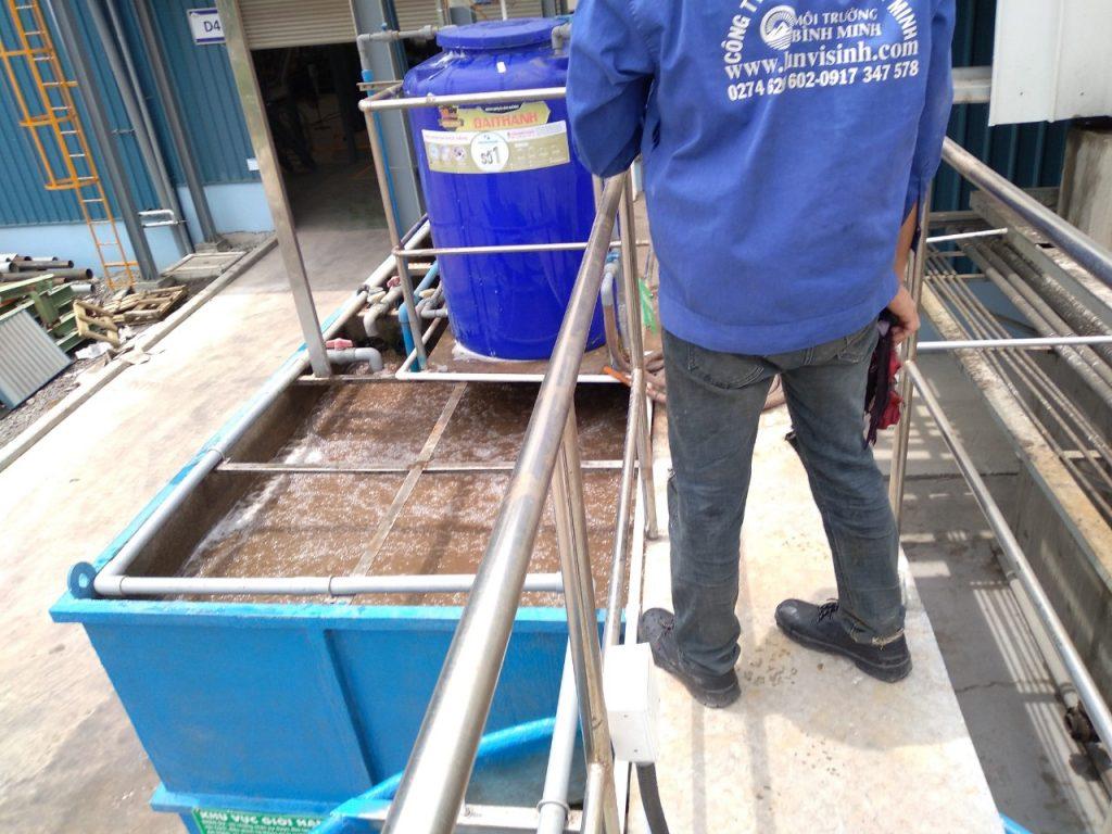 Bảo trì cải tạo hệ thống xử lý nước thải