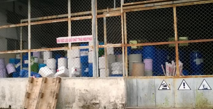 sổ chủ nguồn thải chất thải nguy hại