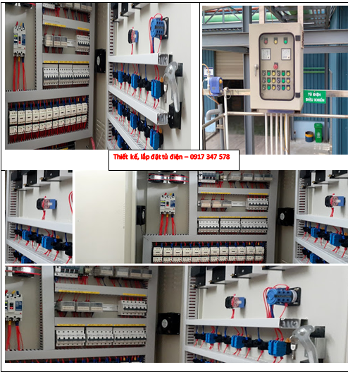 Công ty nhận thiết kế, lắp đặt tủ điện - 0917 347 578