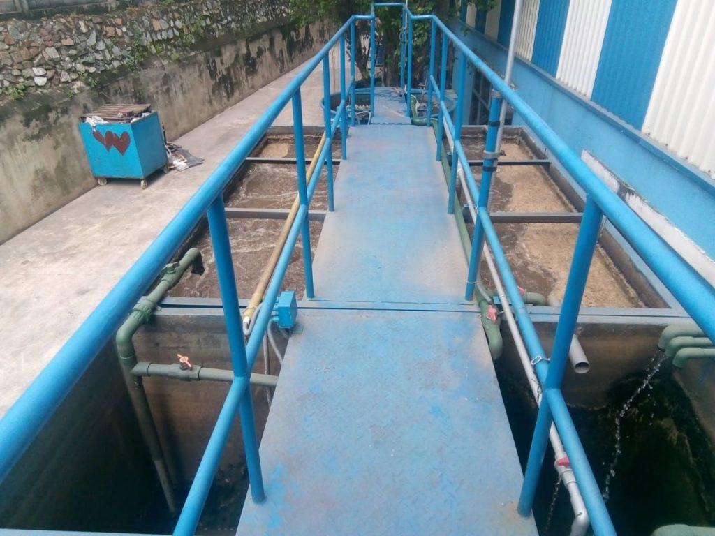 Gia công bồn xử lý nước thải