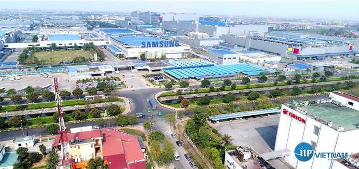 Hình 1. KCN Yên Phong – Bắc Ninh