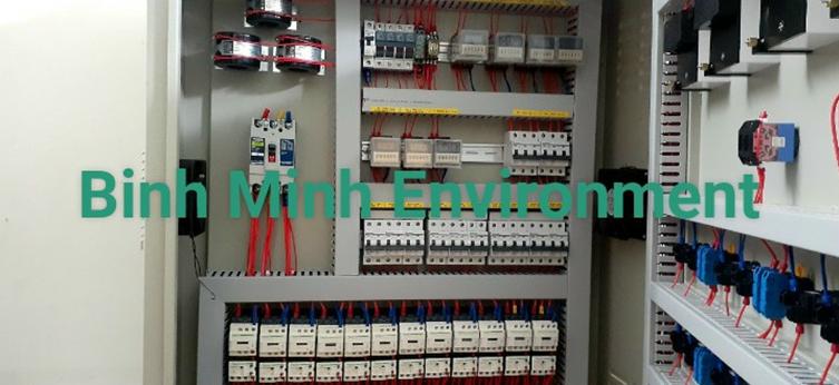 Hình 1. Tủ điện hệ thống XL nước thải CS200 m3